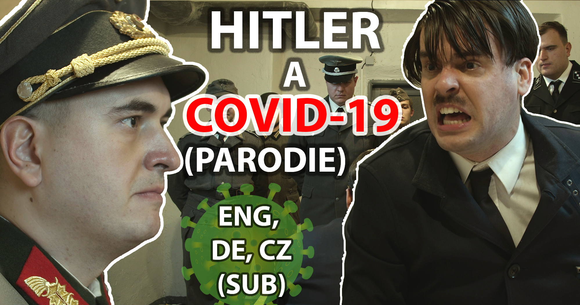 What would Hitler say about COVID? The famous parody scene was filmed