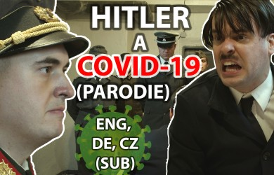 What would Hitler say about COVID? The famous parodied scene was filmed