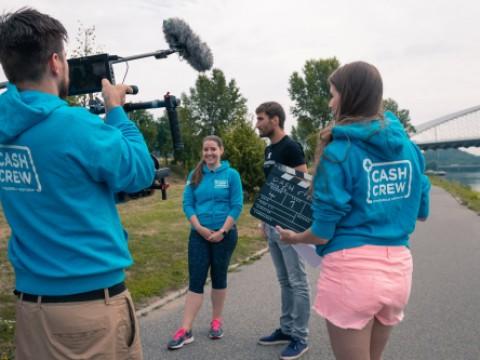 Natáčení projektu Cash crew