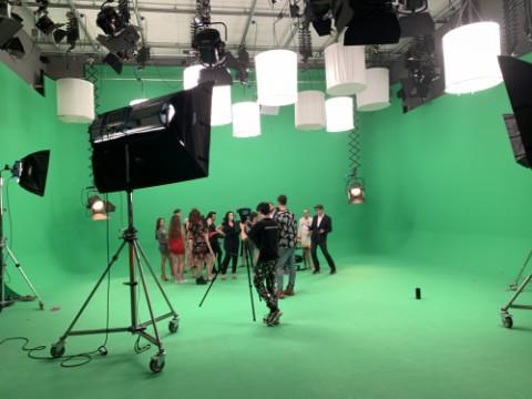 Natáčení hudebního klipu