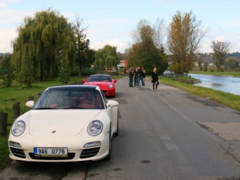 Natáčení reklamy pro půjčovnu aut