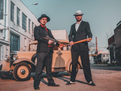 Natáčení videa Mafia