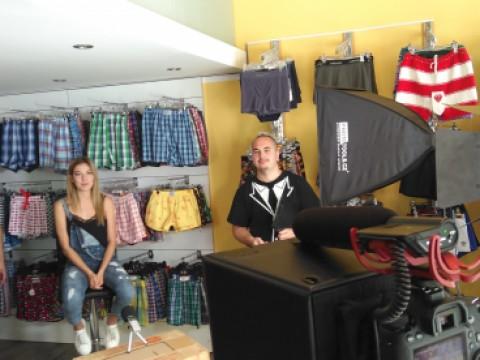 Natáčení s českou Miss 2016 Andreou Bezděkovou
