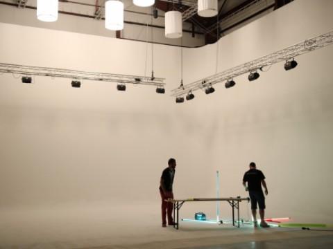 Natáčení hudebního klipu pro rappera a zpěvačku z Thookz production