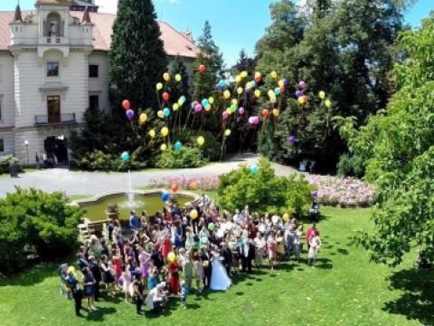 Svatební video na Průhonickém zámku
